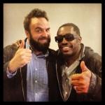Steve Jordan and me