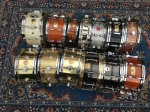 A man can never have too many snare drums