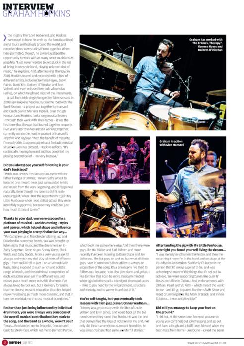 Rhythm Mag page