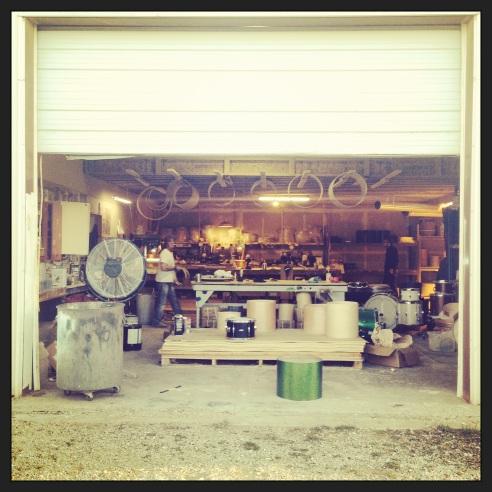 The front door of C&C Custom Drum Company