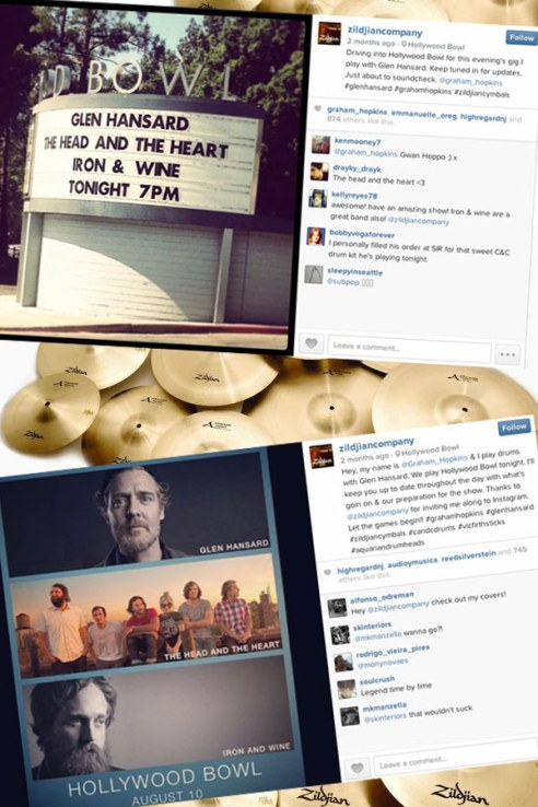 Zildjian instagram pix