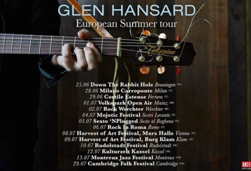 Glen festival tour