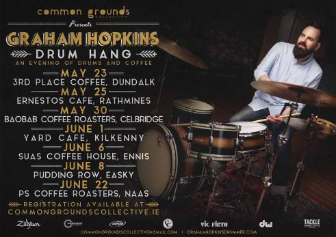 Graham Hopkins drum hang tour