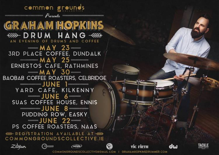 Graham Hopkins drum hang tour